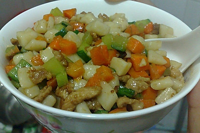老北京小吃—炒疙瘩
