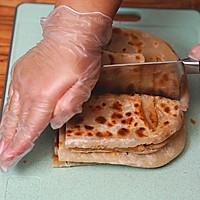 家常芝麻酱饼,照我这么做肯定有九层#助力高考营养餐#的做法图解11