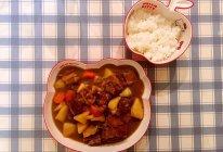 咖喱椰香牛腩饭的做法