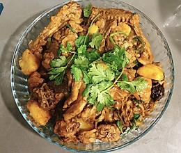 惹味土豆焖鸭子的做法