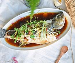 #秋天怎么吃#清蒸鲈鱼的做法
