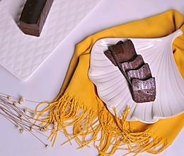 巧克力冻派的做法