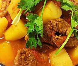 开胃又下饭~番茄土豆炖牛肉的做法