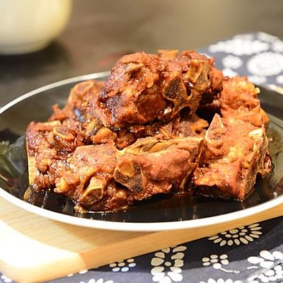 东北菜-酱骨架(酱脊骨)