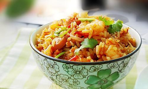 虾仁焖饭--利仁电火锅试用菜谱的做法