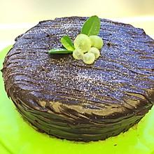 奶油夹心巧克力蛋糕