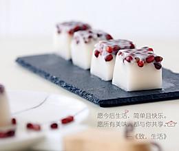 红豆椰汁糕的做法