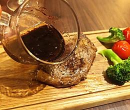 红葡萄酒酱汁(可配牛排和沙拉)的做法
