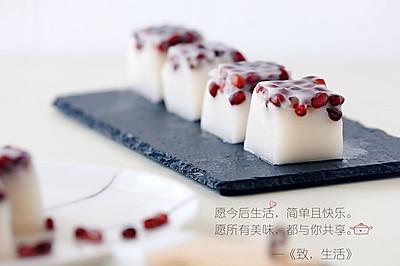 红豆椰汁糕