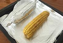香烤玉米(烤箱版)的做法