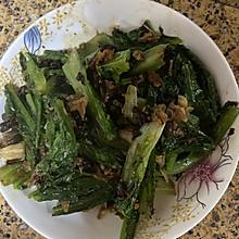 #餐桌上的春日限定#豆豉鲮鱼炒油麦菜