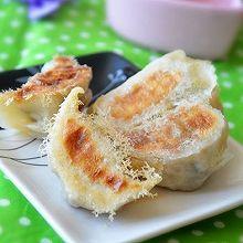 原生态野菜水煎饺