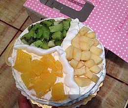 6寸蛋糕的做法