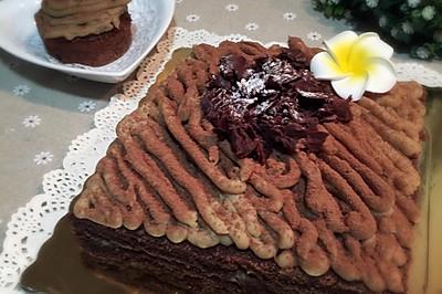 蒙布朗栗子蛋糕 (附栗子蓉做法)