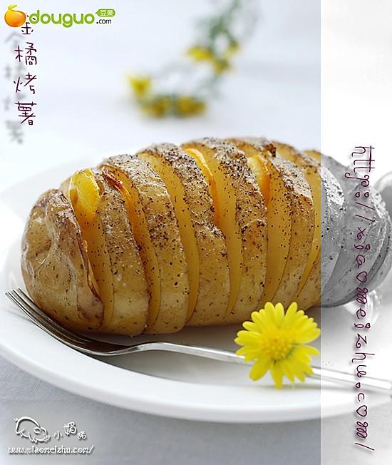 金橘烤薯的做法