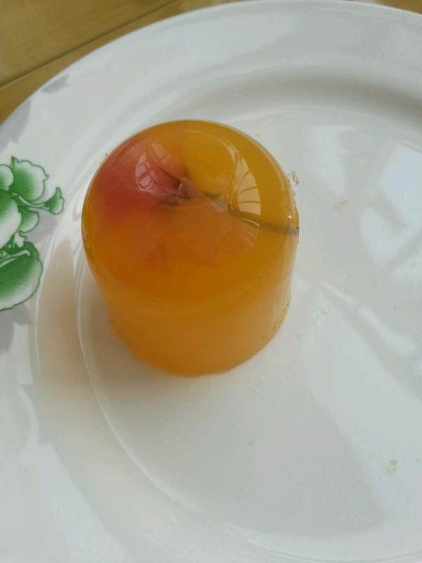 香橙樱花果冻的做法