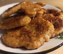 #肉食主义狂欢#嫩嫩鸡胸小鸡肉排可夹三明治的做法
