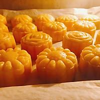 仿香港美心流心奶黄月饼#法国乐禧瑞,百年调味之巅#的做法图解37