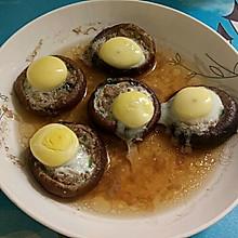 香菇肉沫蒸鹌鹑蛋