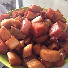 杏鲍菇炒火腿