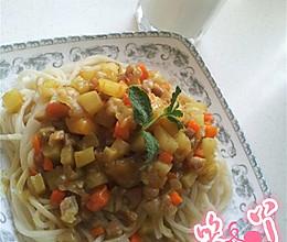 咖喱中式面的做法