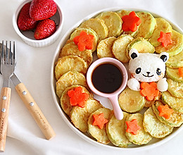 零失败 韩式香煎西葫芦小饼 宝宝爱上吃蔬菜的做法