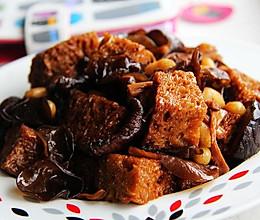 【四喜烤麸】浓油赤酱吃素菜的做法