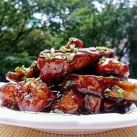 脆芋头虾仁秘制黑椒汁-蜜桃爱营养师私厨-每天摄入100g薯类