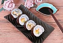 #美食视频挑战赛#鳗鱼紫菜包饭寿司卷,简单易做的做法