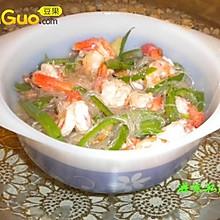 金银虾粉丝煲