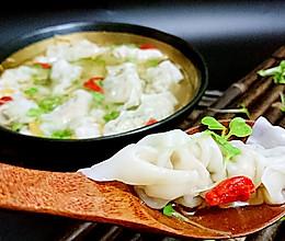 窈窕包法小馄饨云吞-自种小白菜苗入馅-蜜桃爱营养师私厨的做法