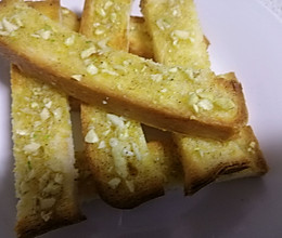 蒜香烤面包的做法