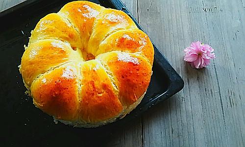 超柔软的牛奶面包~手揉版的做法