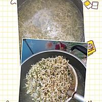 凉拌绿豆芽的做法图解1