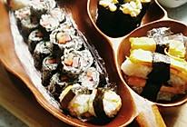 用家里有限的材料做的寿司拼盘的做法