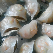 透明水晶饺