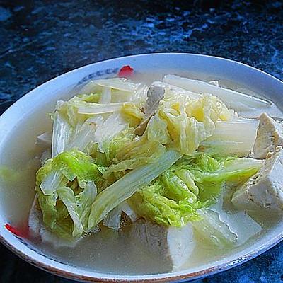 【大白菜炖豆腐】