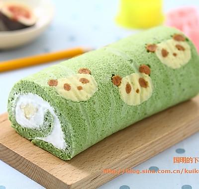 小熊猫蛋糕卷