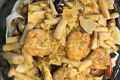 鲜虾盖浇面