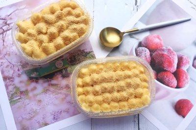 #夏天夜宵High起来!#网红甜品豆乳盒子