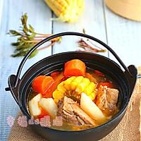 四小时煲出的一锅好汤:[番茄玉米猪骨汤]的做法图解10