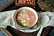 特色花生疙瘩汤的做法