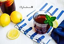 夏日解暑圣品-柠檬薄荷冰红茶的做法