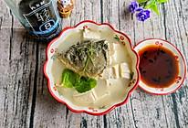 #味达美名厨福气汁,新春添口福#鱼头豆腐汤的做法