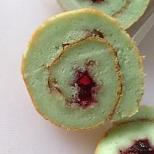 蛋白蓝莓卷