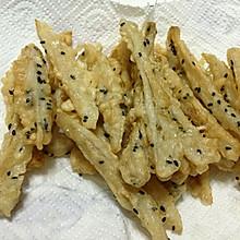 炸芝麻藕条