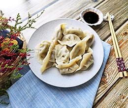 #硬核菜谱制作人#又鲜又脆~豆角莲藕香菇饺的做法