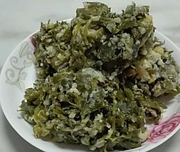 芹菜叶菜馍的做法