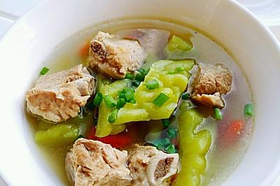 苦瓜枸杞排骨汤