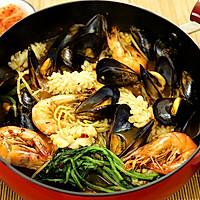 韩式辣炖海鲜汤
